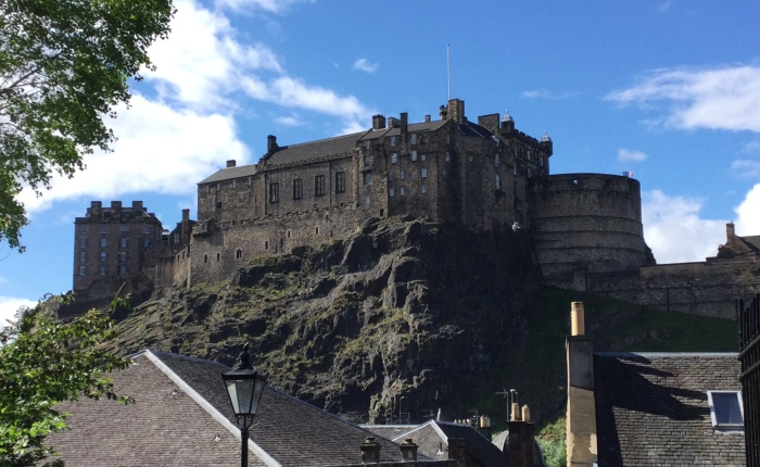 Solstice at Edinburgh Castle